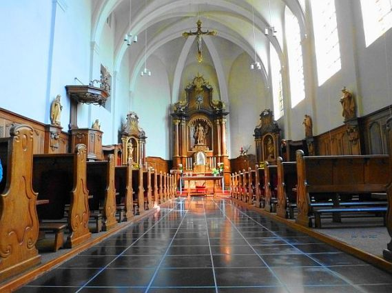 Agnetenberg kapel interieur